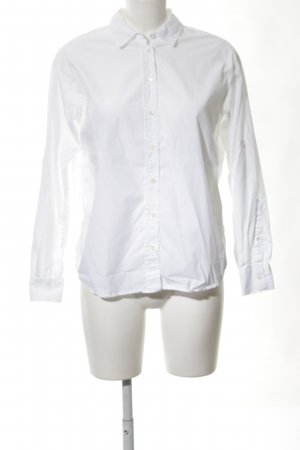 Closed Long Sleeve Shirt white business style