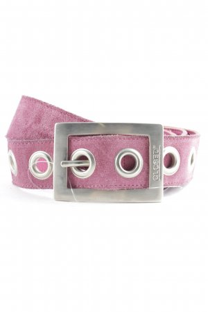 Closed Leather Belt magenta casual look