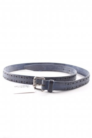 Closed Leather Belt petrol casual look