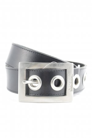 Closed Leather Belt black casual look
