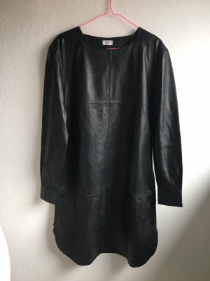 Closed Leather Dress black leather
