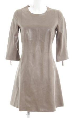 Closed Leather Dress light grey elegant