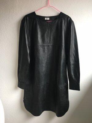Closed Leren jurk zwart Leer