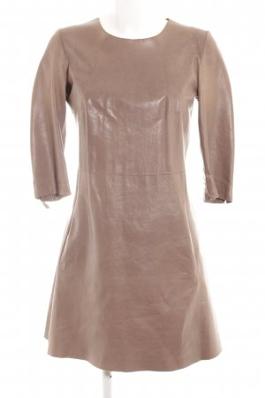 Closed Lederkleid beige Casual-Look
