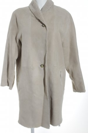 "Closed Abrigo de cuero ""Duston Reversible Shetland Coat Beige S"""