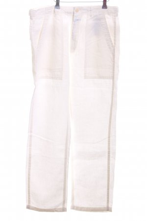 Closed Linen Pants natural white casual look