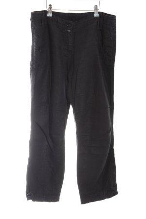 Closed Linnen broek zwart casual uitstraling