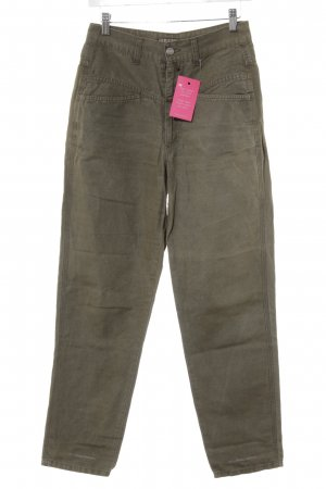 Closed Linen Pants green grey casual look