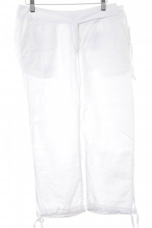 Closed Linen Pants white beach look