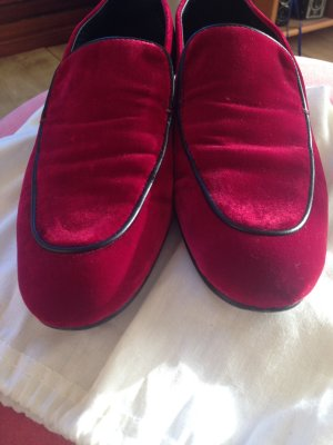 Closed Loafer aus Samt