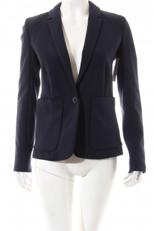 Closed Long-Blazer dunkelblau Business-Look