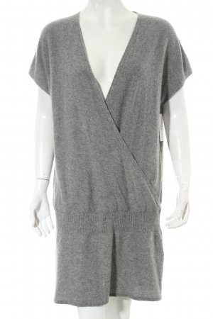 Closed Longpullover grau Wickel-Look