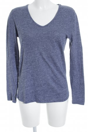 Closed Longsleeve graublau meliert Casual-Look