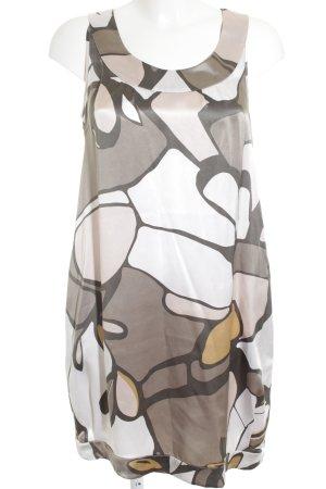 Closed Midi-jurk abstract patroon elegant