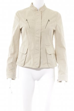 Closed Militaryjacke hellbeige Military-Look