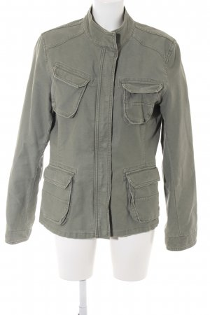 Closed Militaryjacke khaki Casual-Look