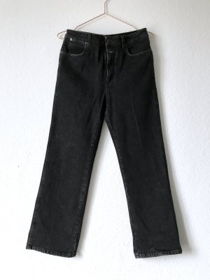 Closed 'Milly' High Waisted Black Denim Schwarze Jeans
