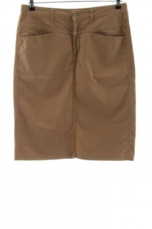 Closed Miniskirt brown casual look