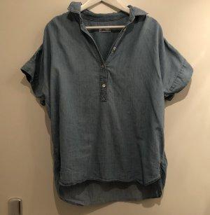 Closed Oversize-Jeansbluse