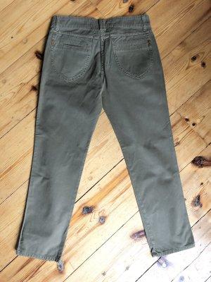 Closed Pantalone a 3/4 cachi Cotone