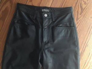 Closed Pantalón de cuero negro