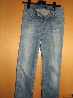 Closed Jeans met rechte pijpen blauw