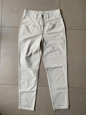 Closed Pantalón de pinza alto blanco puro