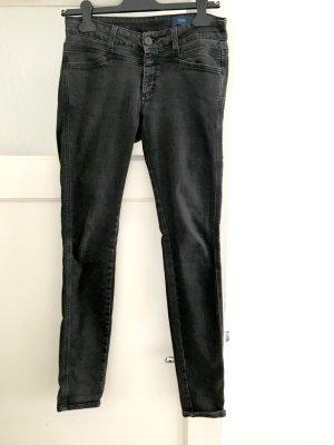 Closed Slim Jeans anthracite-black cotton
