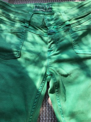 Closed Slim jeans groen