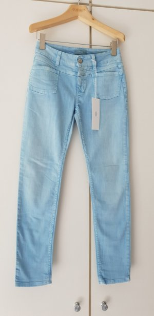 Closed Trousers azure cotton
