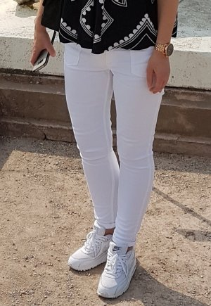 CLOSED Pedal X Skinny Jeans W26 Knöchellang Stretch Sommerjeans Weiß