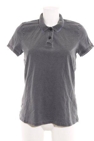 Closed Polo-Shirt dunkelgrau Casual-Look
