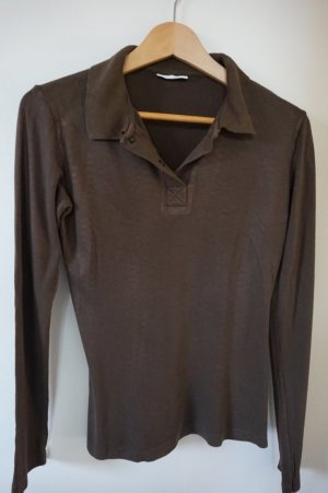 Closed Polo brun foncé viscose
