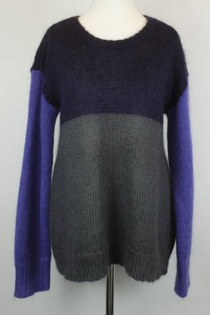 Closed Pullover Strickpullover Gr. L lila grau