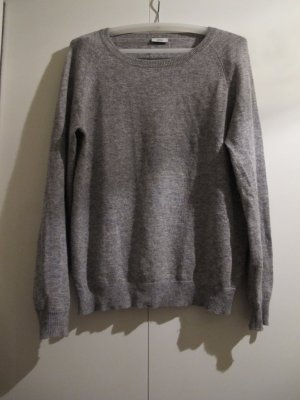 CLOSED Pullover Wollpullover M/L grau Winterpullover Oberteil Top Shirt