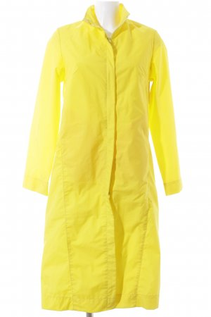 Closed Heavy Raincoat yellow casual look