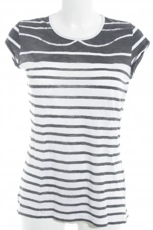 Closed Stripe Shirt natural white-black striped pattern casual look