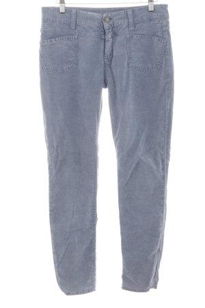 Closed Pantalon cigarette bleu-gris clair Aspect de jeans