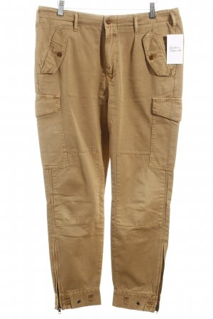 Closed Röhrenhose camel Casual-Look