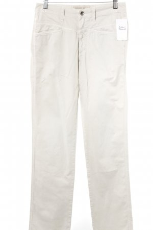 Closed Röhrenhose creme Casual-Look