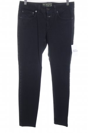 Closed Tube jeans donkerblauw simpele stijl