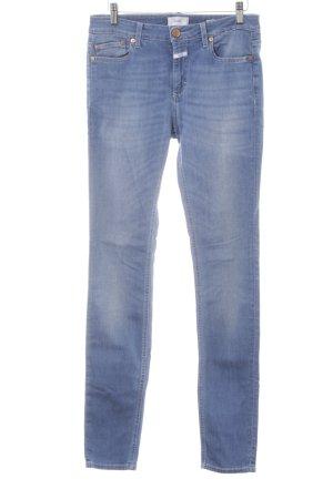 Closed Röhrenjeans kornblumenblau-blassblau Jeans-Optik