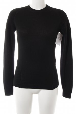 Closed Rollkragenpullover schwarz Casual-Look