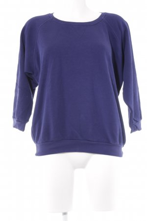 Closed Rundhalspullover blau Casual-Look