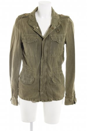 Closed Safarijacke olivgrün Casual-Look