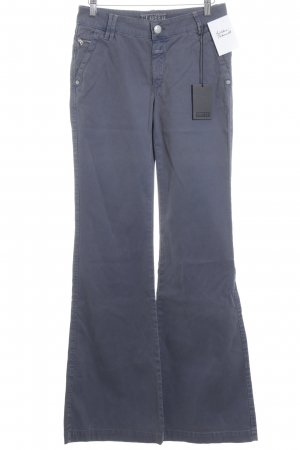 Closed Flares blue violet extravagant style