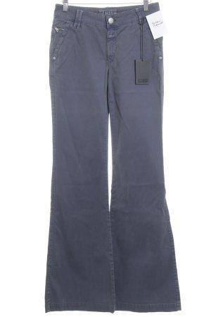 Closed Pantalón de campana violeta azulado estilo extravagante