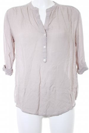 Closed Slip-over blouse lichtgrijs casual uitstraling