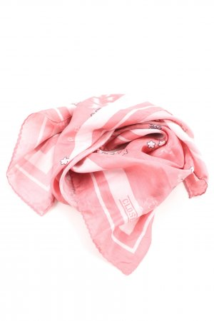 Closed Silk Scarf allover print casual look