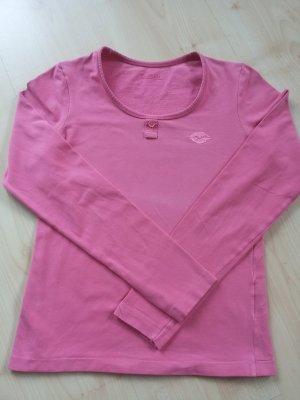CLOSED Shirt T-Shirt langarm pink Gr. S 36